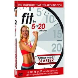 Fit in 5 to 20 Minutes - Bingo Wings Blaster [DVD]